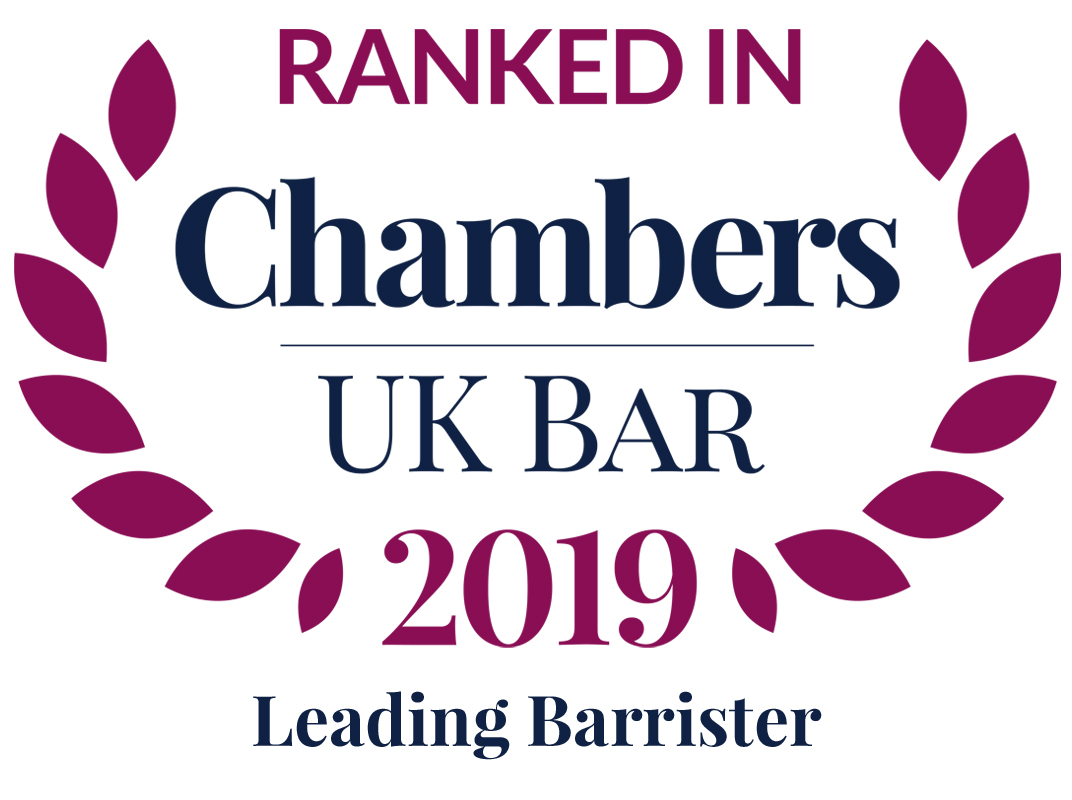 Chambers & Partners 2019 Leading Barrister