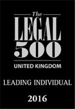Legal 500 2016: Leading Individual