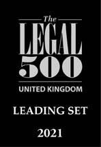 Legal 500 2021 Leading Set